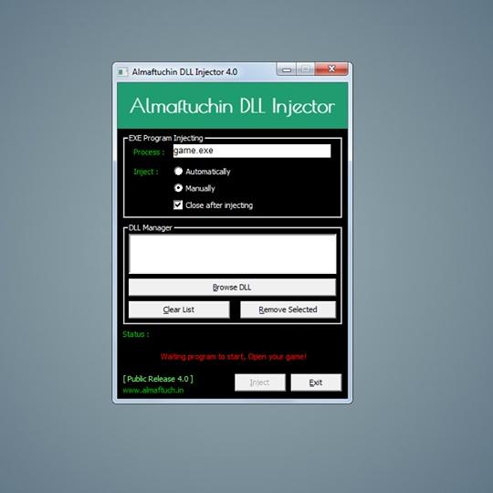 Almaftuchin DLL Injector (Undetected)
