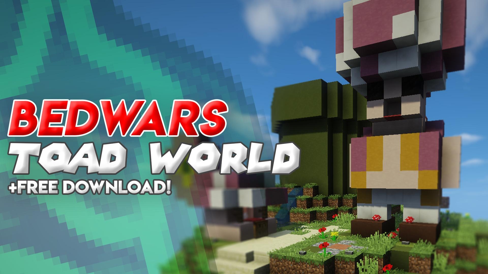 Free Minecraft Bedwars Map: Toad World