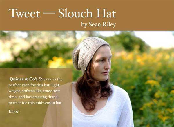 Tweet — Slouch Hat