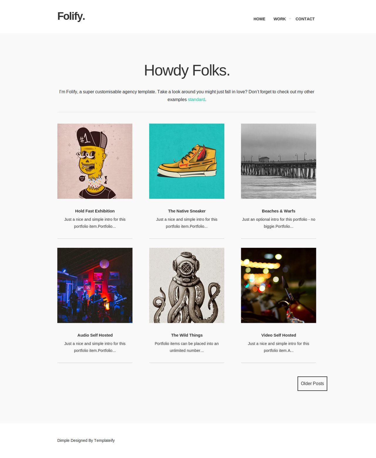 Folify (Licensed Version) by templateify.com