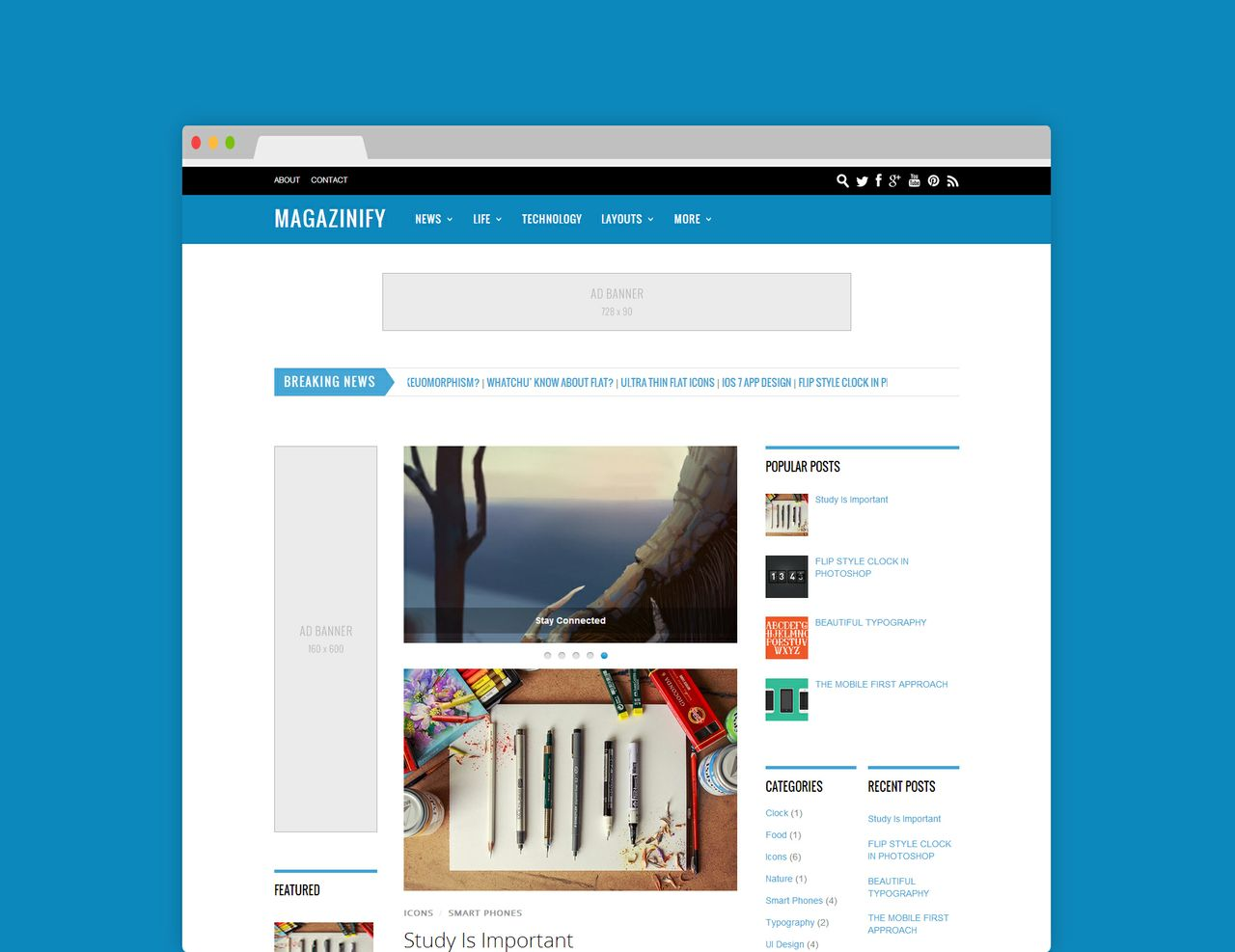 Magazinify (Licensed Version) By Templateify.com
