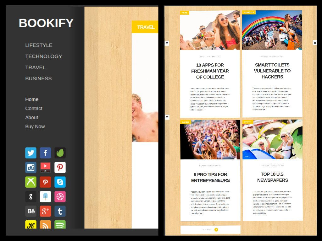 Bookify (Licensed Version) by templateify.com
