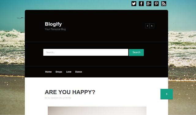 Blogify (Licensed Version) by templateify.com