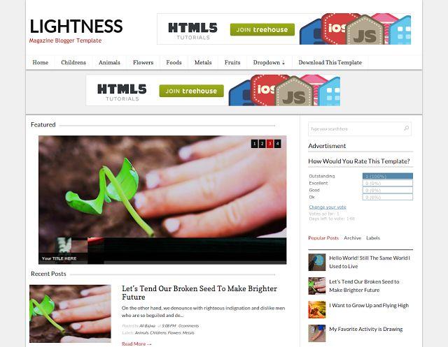 Lightness (Licensed Version) by templateify.com