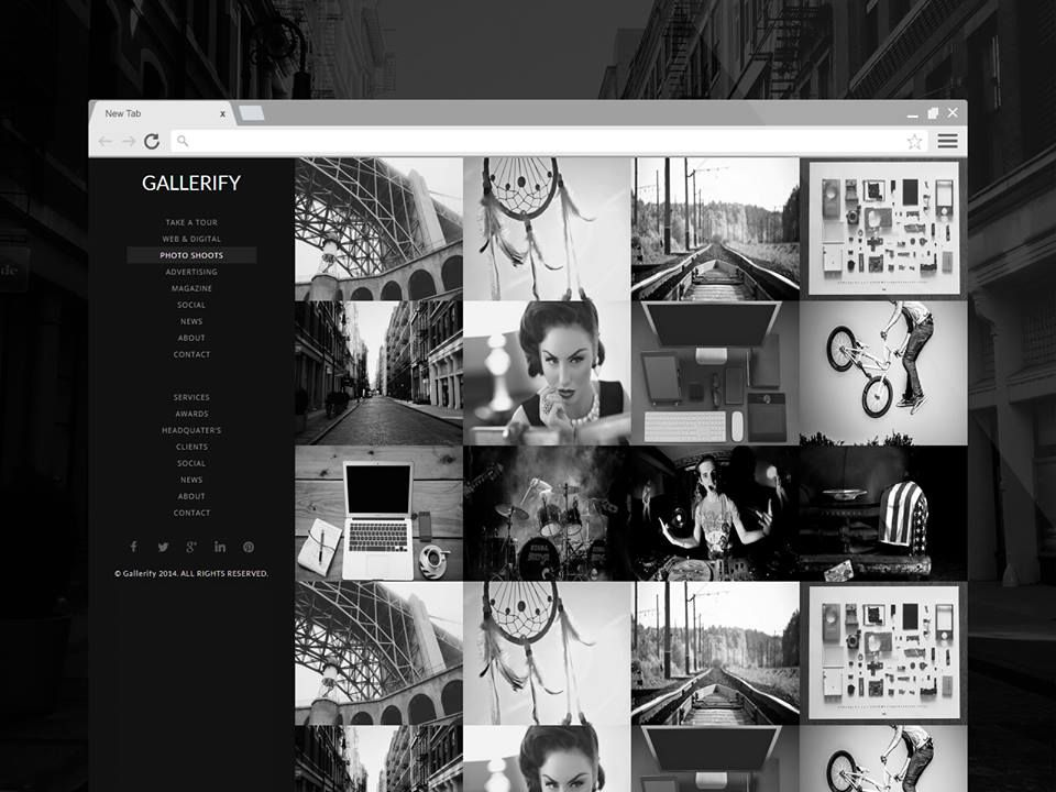 Gallerify (Licensed Version) By Templateify.com