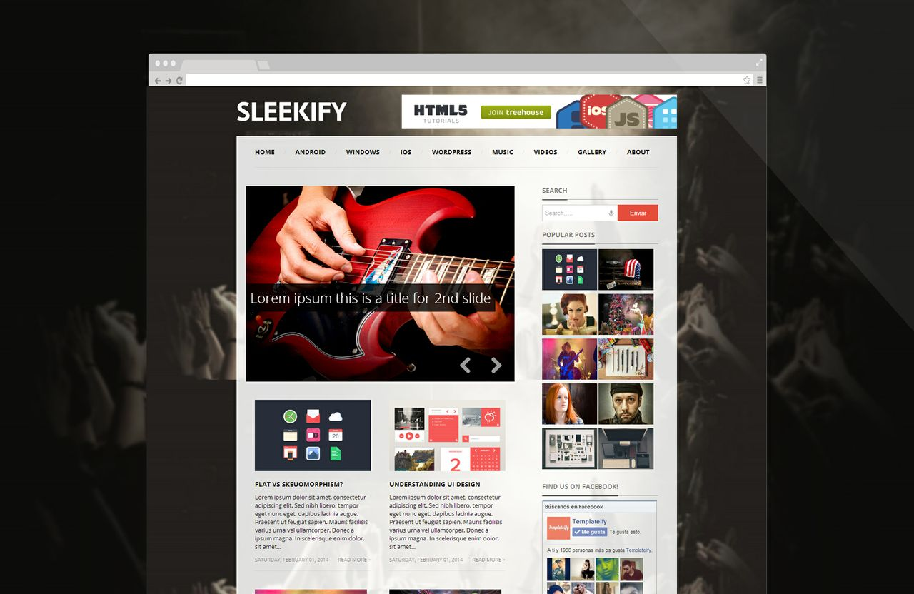 Sleekify (Licensed Version) By Templateify.com