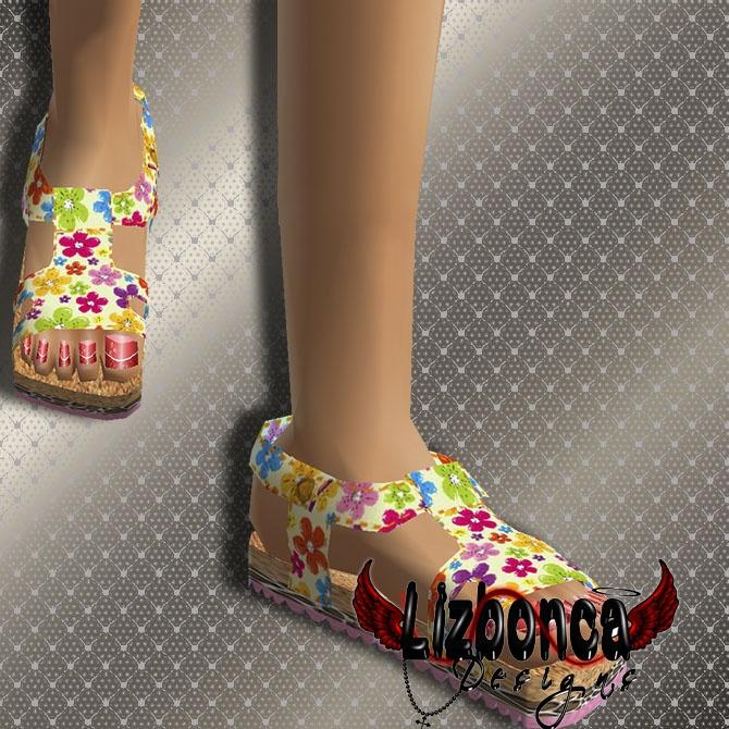 B-Girl2 (Top - Short - Hat - Sandals )