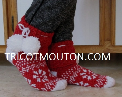 BF-13 Christmas Slippers