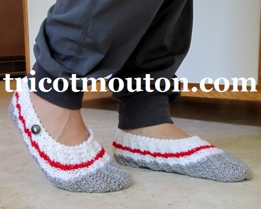 Chaussons de Voyage # BF-07  Collection du Pays