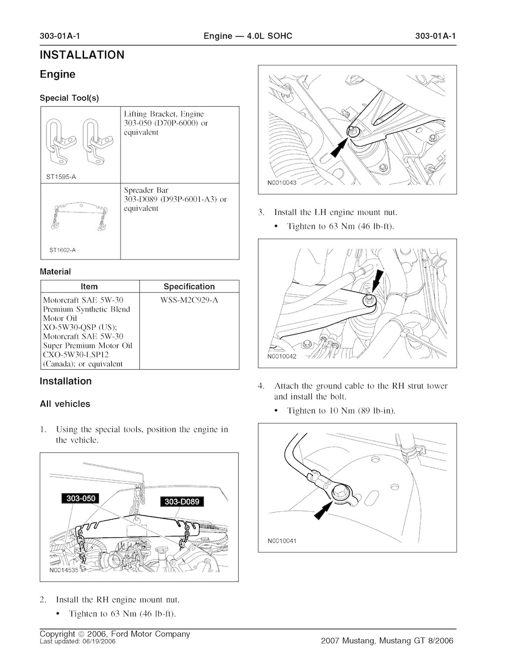 2007 Mustang Manual Pdf Kawasaki Fd750 Regulator Wiring Diagram Array Ford Gt Oem Service And Repair P Rh Sellfy Com