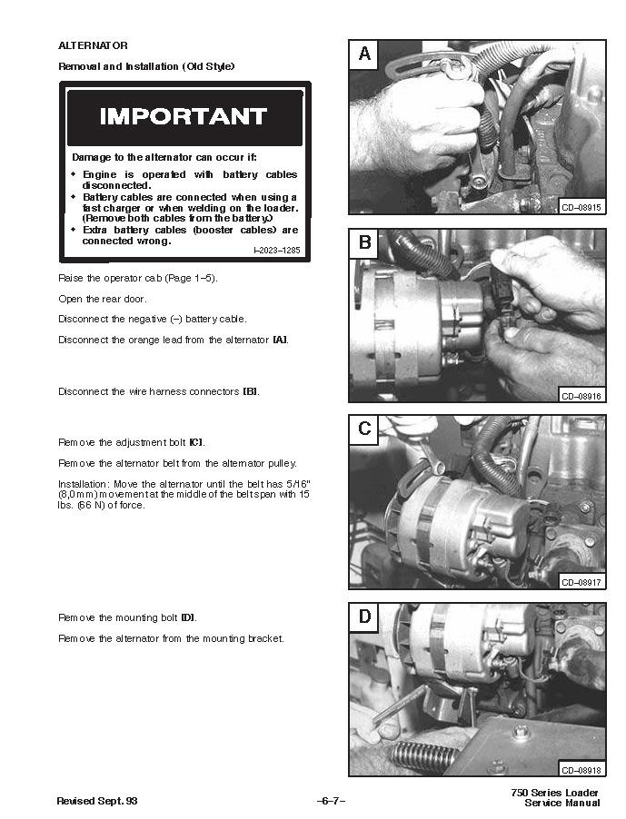 Bobcat 753, OEM Workshop Service Repair Manual