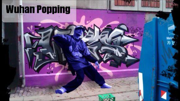 Popping Class Wuhan 2013