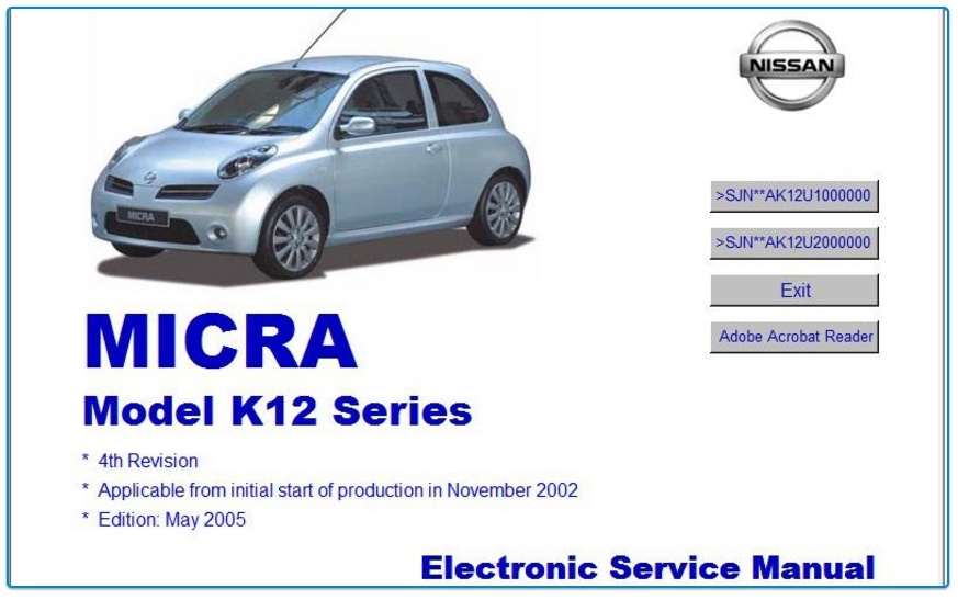 nissan micra k12 radio serial number