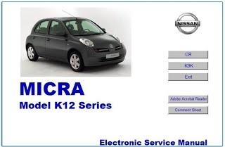 NISSAN MICRA K12 K9K WORKSHOP MANUAL