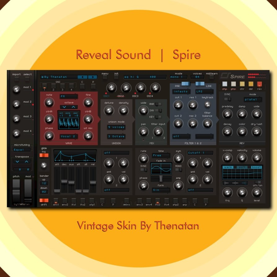 Reveal Sound - Spire Vintage Skin By Thenatan