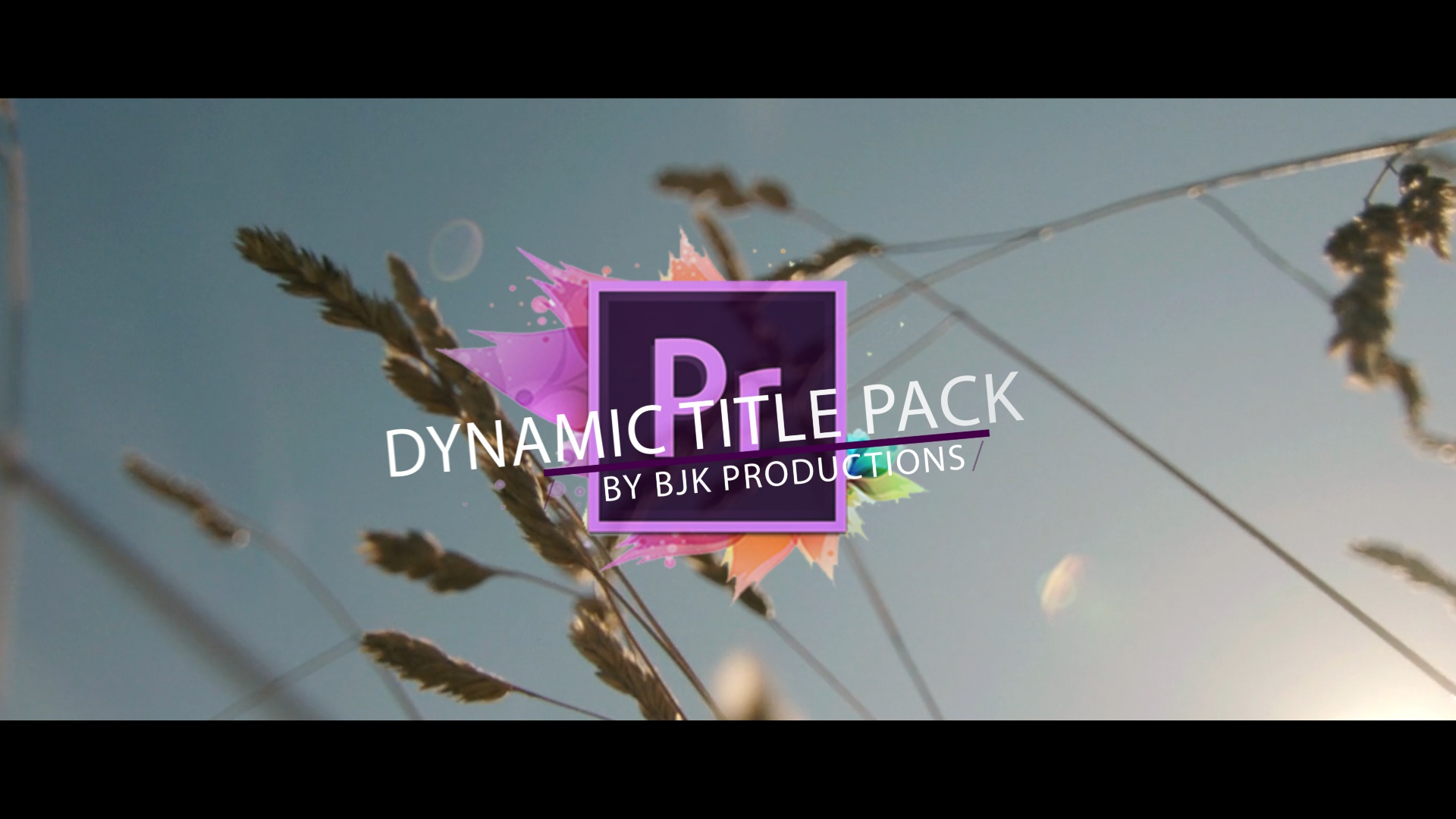 Adobe Premiere Pro CC Dynamic Title Pack