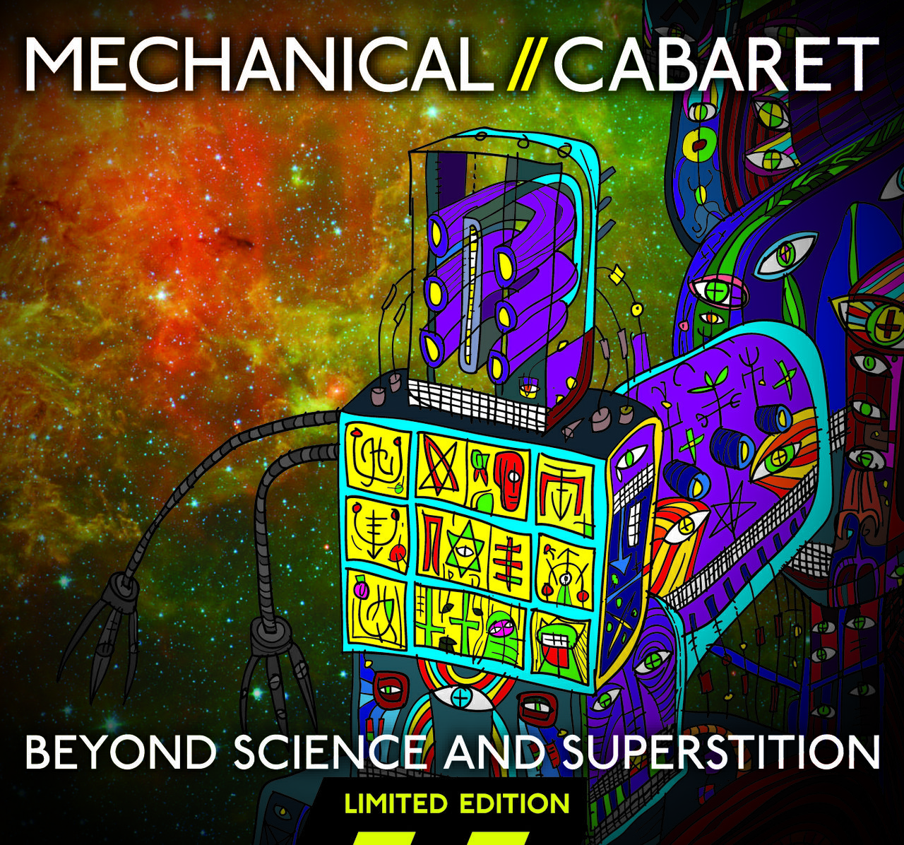 Mechanical Cabaret - Beyond Science And Superstition - Ltd Ed Album - 14 tracks