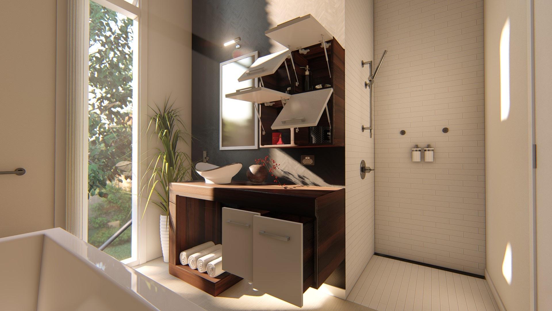 Revit Complete Cabinetry System : Vanity Unit-1