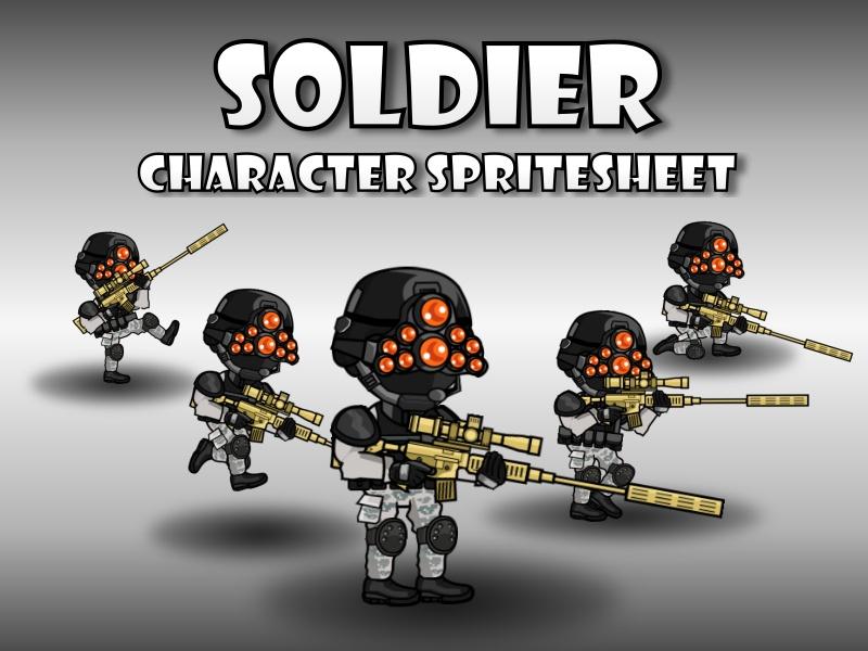 Soldier 47 Night Sniper