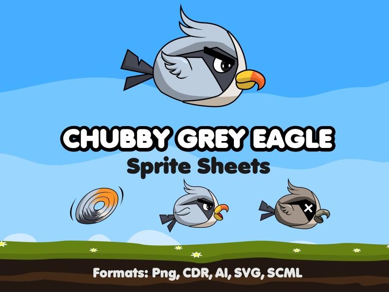 Chubby Grey Eagle