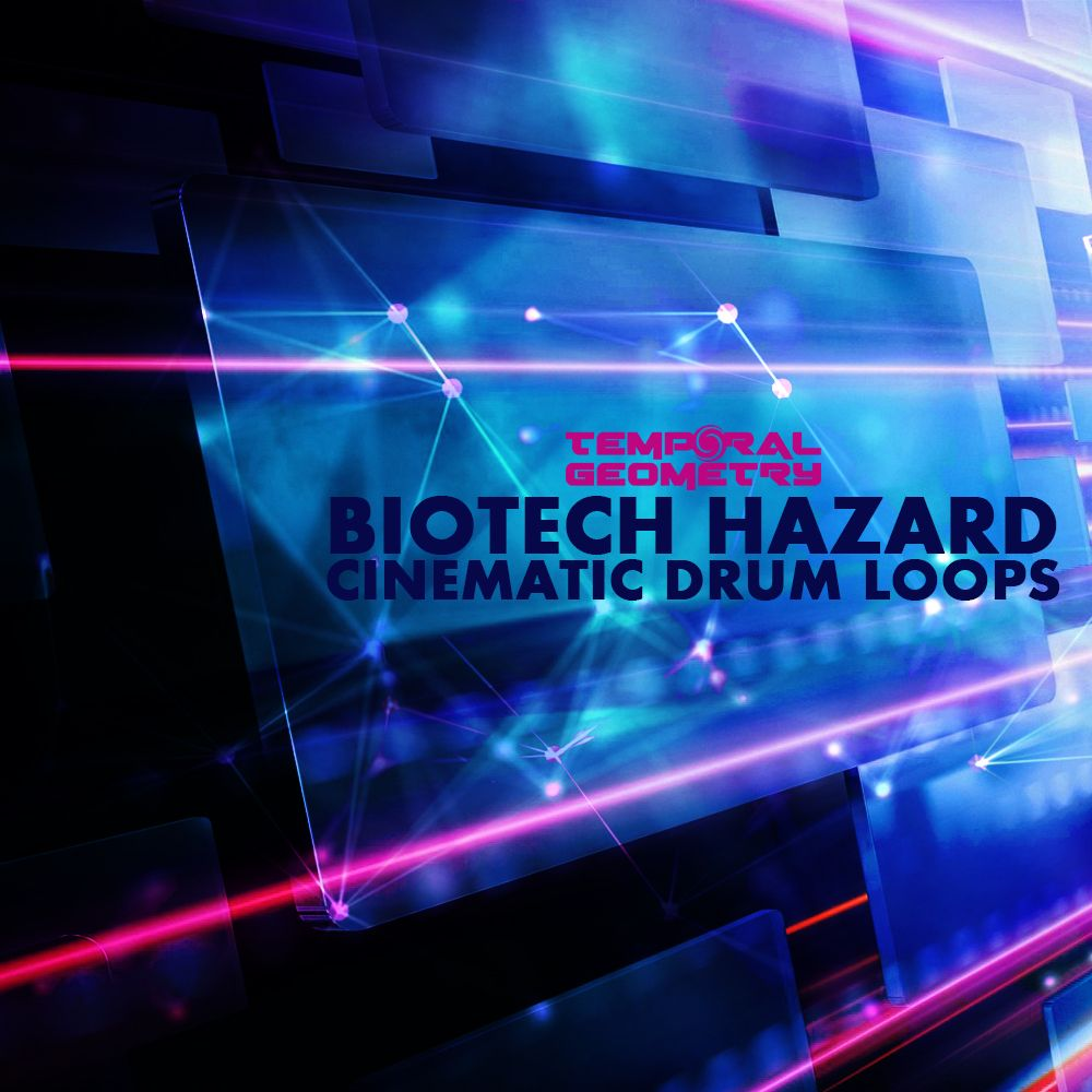 Biotech Hazard - Cinematic Drum Loops Sample Pack