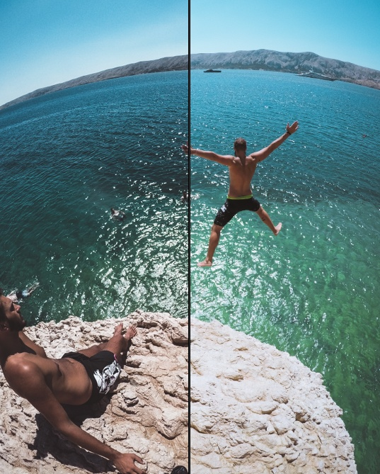 CLIFF JUMPING 2018