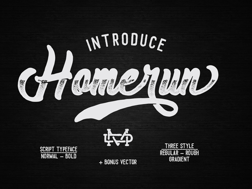 Homerun Typeface - 30%OFF