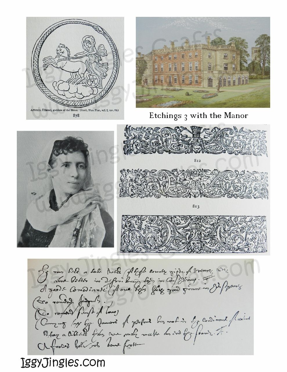Etchings 3 with The Manor