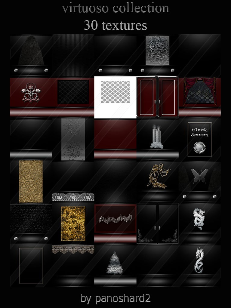 virtuoso collection 30 textures room imvu