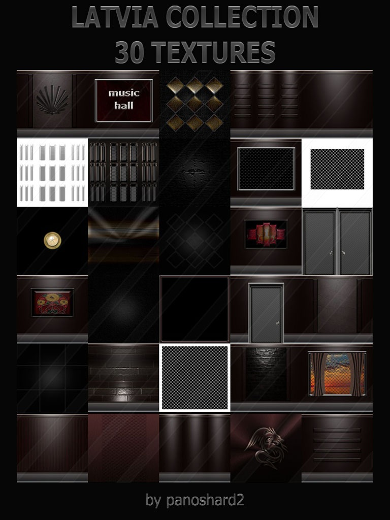 LATVIA COLLECTION 30 TEXTURES IMVU ROOM