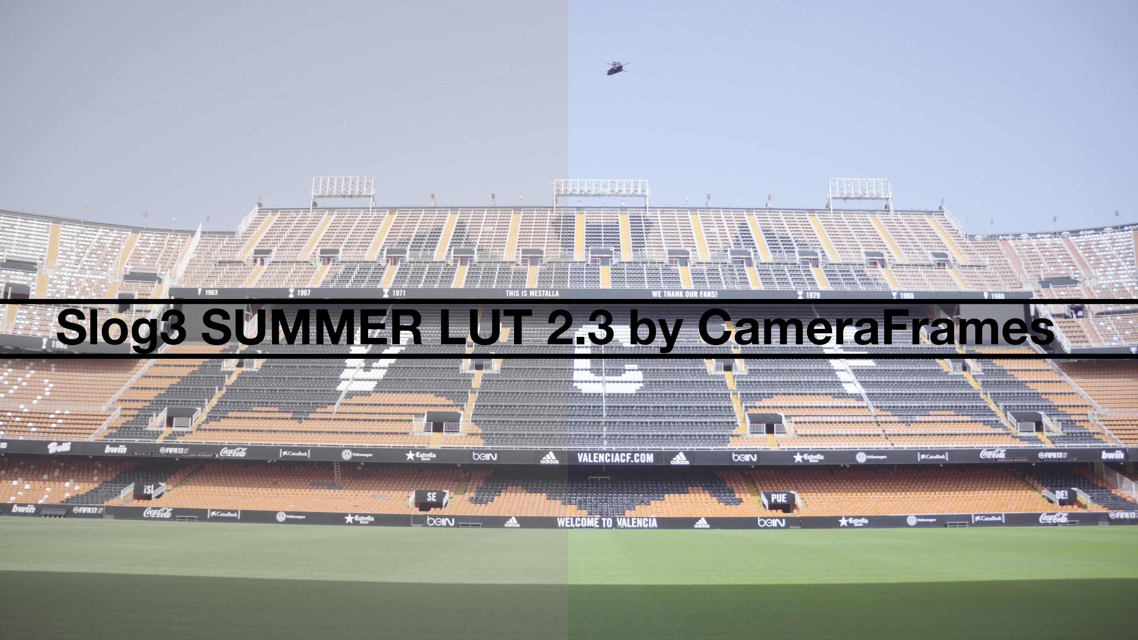Slog3 Summer LUT 2.3 by CameraFrames