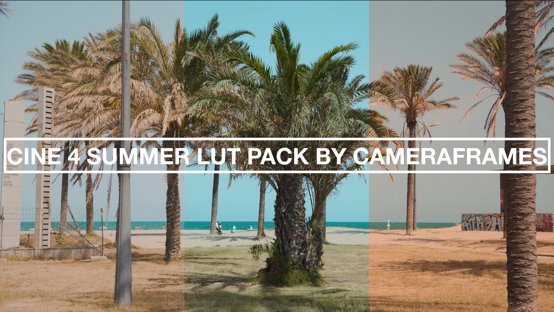 Cine4 LUT pack by CameraFrames