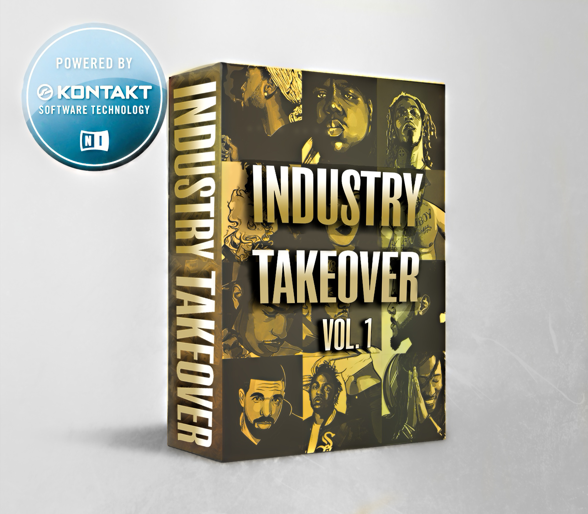 INDUSTRY TAKEOVER VOL. 1 KONTAKT