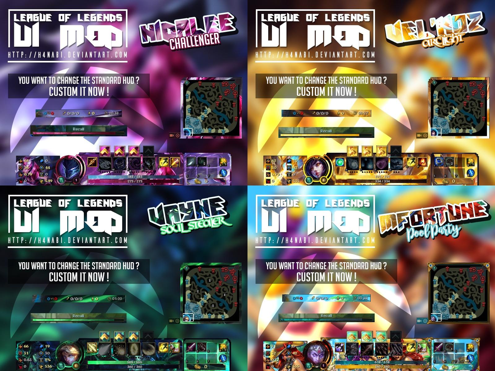 League of Legends UI Mod - #1