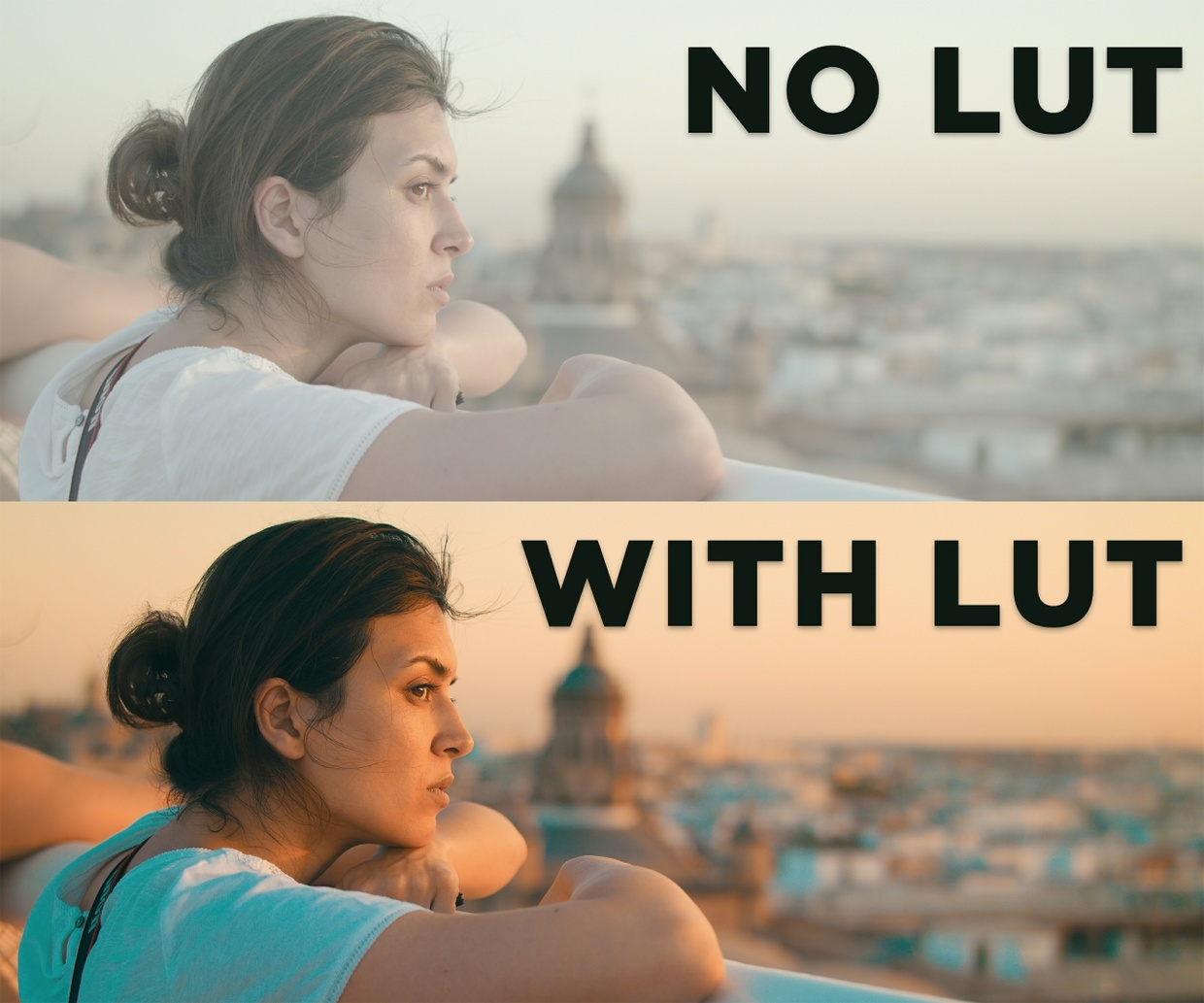 6 Cinematic LUTs by Hussain Abdullah @hussainfilming