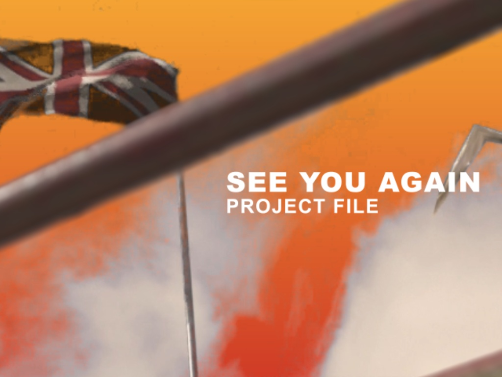 See You Again Project File (Includes All Footage)